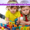 Alfabetização com material concreto